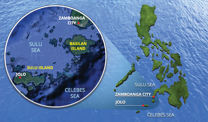 Philippines mindanao islands